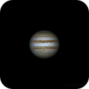 Jupiter, 14 january 2015, 23:10 (4 frames on Winjupos),                                Star Hunter