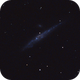 The whale galaxy in the moonlight,                                Mattes
