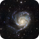 The Pinwheel Galaxy (M101),                                AstroBadger