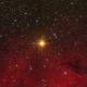 Herschel's Garnet Star - Mu Cephei,                                Thomas Richter
