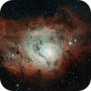 M8 Lagoon Nebula,                                Bryan Cascio