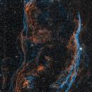 Cygnus Loop in HOO,                                Alex Roberts