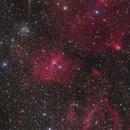NGC 7635, Bubble nebula wide field,                                Markus Blauensteiner