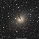 Centaurus A  - NGC 5128,                                L. Fernando Parmegiani
