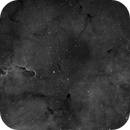 First Light with MONO DSLR  IC1396 in Ha,                                Chris