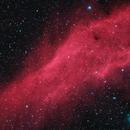 NGC1499 - The California Nebula -  Two Panel Mosaic,                                Randy Roy
