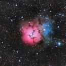 Trifid Nebula - M20,                                Chuck's Astrophotography