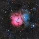 Trifid Nebula - M20,                                Chuck's Astrophot...