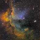 NGC 7380 The Wizard Nebula,                                Dale A Chamberlain