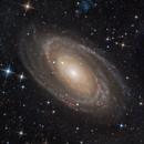 Bode's Nebula and the Cigar Galaxy,                                Alex Roberts