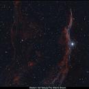 NGC6960 in Bi-color Ha/OIII,                                Serge Caballero