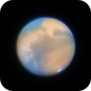Mars @44° Altitude 10/24/2020 21:19 UTC,                                Falk Schiel