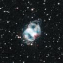 M76, Little Dumbbell nebula, narrowband,                                iva