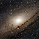 M31 Andromeda Galaxy close up,                                angryowl