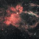 The Lobster Claw Nebula, SH2-157,                                Steven Bellavia