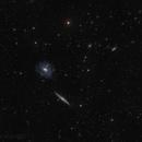 NGC 5963,5965,5969,5971 with a tidal stars stream,                                Vadim Kozatchenko