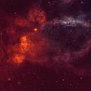 Backyard - The Lobster Claw Nebula,                                Min Xie