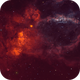 Backyard - The Lobster Claw Nebula,                                Min Xie