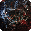 (A Part Of) The Vella Super Nova Remnant,                                Glenn C Newell