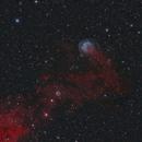 HFG1 (PK 136+05), Abell 6 (PK 136+04.1); Cassiopeia,                                Thomas V. Davis