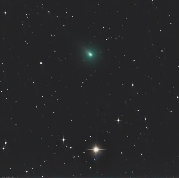 Comet Atlas (C/2019 Y4) - L-RGB (2020/03/28),                                Olivier Ravayrol
