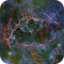 Vela Supernova Remnant (Rémanent de supernova dans la constellation des Voiles),                                Roger Bertuli