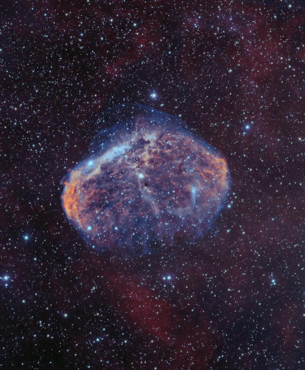 NGC6888 Bicolor,                                xb39