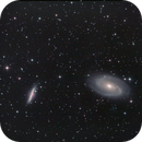 Messier 81 and Messier 82,                                Adrie Suijkerbuijk