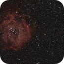 First attempt HaRGB - Rosette Nebula (NGC-2237),                                MGralike