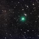C/2019 Y4 (ATLAS) with dusty molecular cloud,                                Yu-Peng Chan
