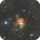 NGC1579 - the Northern Trifid Nebula,                                Seymore Stars