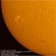 The Sun in H-alpha - active area 12765, AS174MM, 2020606.,                                Geert Vandenbulcke