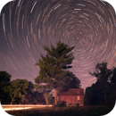 Star Trail with Headlights and Firefly,                                Amy Cantu