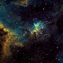 The Heart Nebula - IC1805,                                Bill Worley