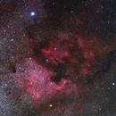 Deneb and the North America Nebula,                                J_Pelaez_aab