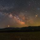 April Milky Way,                                Łukasz Żak
