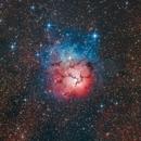 M20 - Trifid Nebula,                                FedericoDS