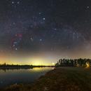 Winter Milky Way and Venus,                                Łukasz Żak