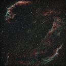 Veil Cygnus loop through a Redcat,                                Doversole83