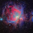 M42, The Great Orion Nebula,                                rveregin