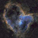 The Heart Nebula,                                AstrOdyssey