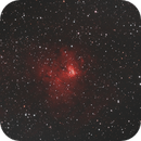NGC 1491 Ha-RVB DSLR,                                Francis Couderc