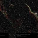 NGC6960 - Veil Nebula and Pickering's Triangle,                                Uwe Deutermann