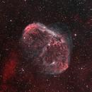 NGC6888 BiColor with RGB Stars,                                Sascha Schueller