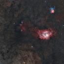 M8+M20 +Croce di Webb,                                Federico Bossi