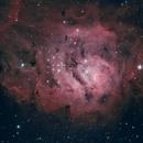 M8 Lagoon Nebula,                                Matt Balkham