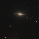 M104 - Galaxie du Sombrero,                                Francis Moreau