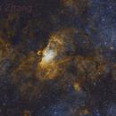 NGC6604, M16&M17 Widefield Image,                                Shenyan Zhang