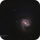 M61 with the supernova,                                Joostie