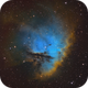NGC 281 Pacman in hubble colors,                                Jens Zippel